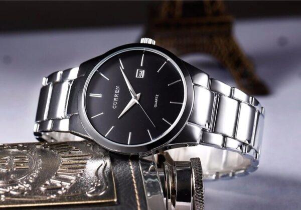 Relógio De Luxo Curren - Gadgets &Amp; Coisas
