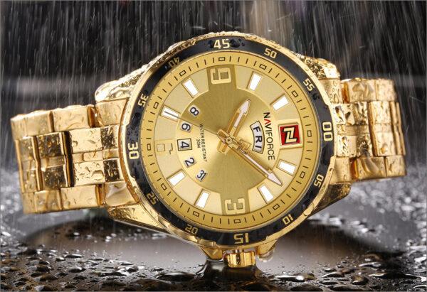 Relógio Luxuoso Naviforce - Gadgets &Amp; Coisas