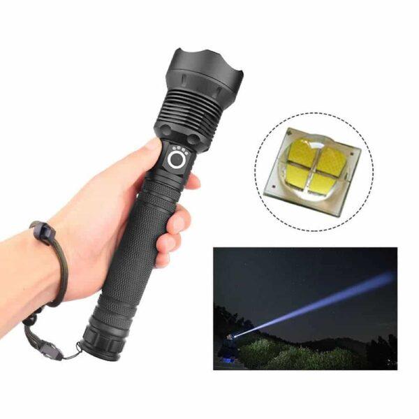 Lanterna Tática 12.000 Lumens - Gadgets &Amp; Coisas