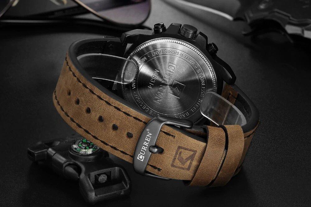 Relógio Curren Premium - Gadgets &Amp; Coisas