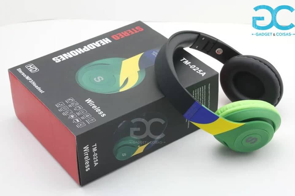 Auscultadores Bluetooth Com Microfone - Gadgets &Amp; Coisas