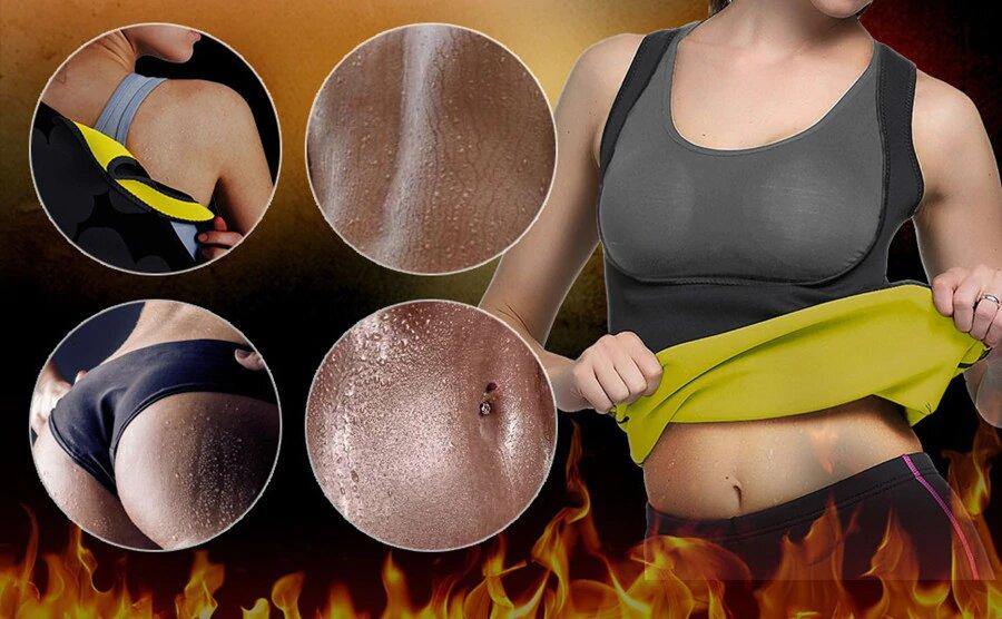 Camisola Efeito Sauna Para Mulher - Gadgets &Amp; Coisas