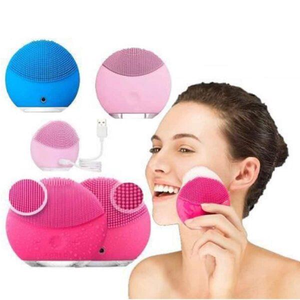 Esponja Elétrica De Limpeza Facial E Massajadora - Gadgets &Amp; Coisas
