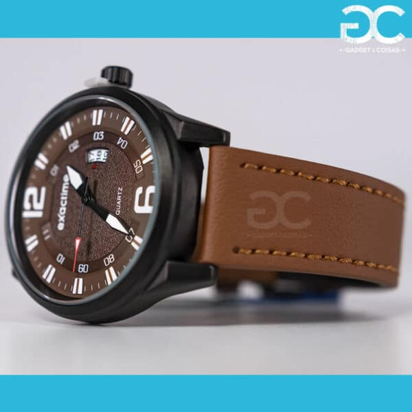 Exactime Dioniso 6D3376C - Castanho - Gadgets &Amp; Coisas