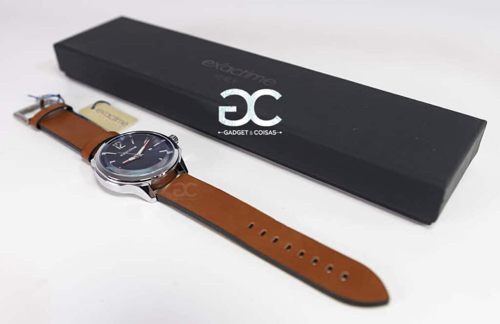 Exactime Nice 6D3375C - Castanho - Gadgets &Amp; Coisas
