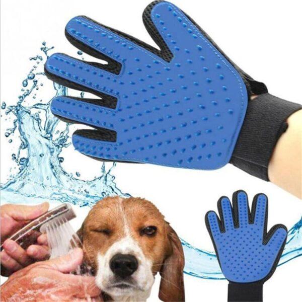 Luva Para Escovar E Massajar Cães E Gatos - Gadgets &Amp; Coisas
