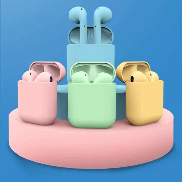 Auriculares Inpods I12 - Gadgets &Amp; Coisas