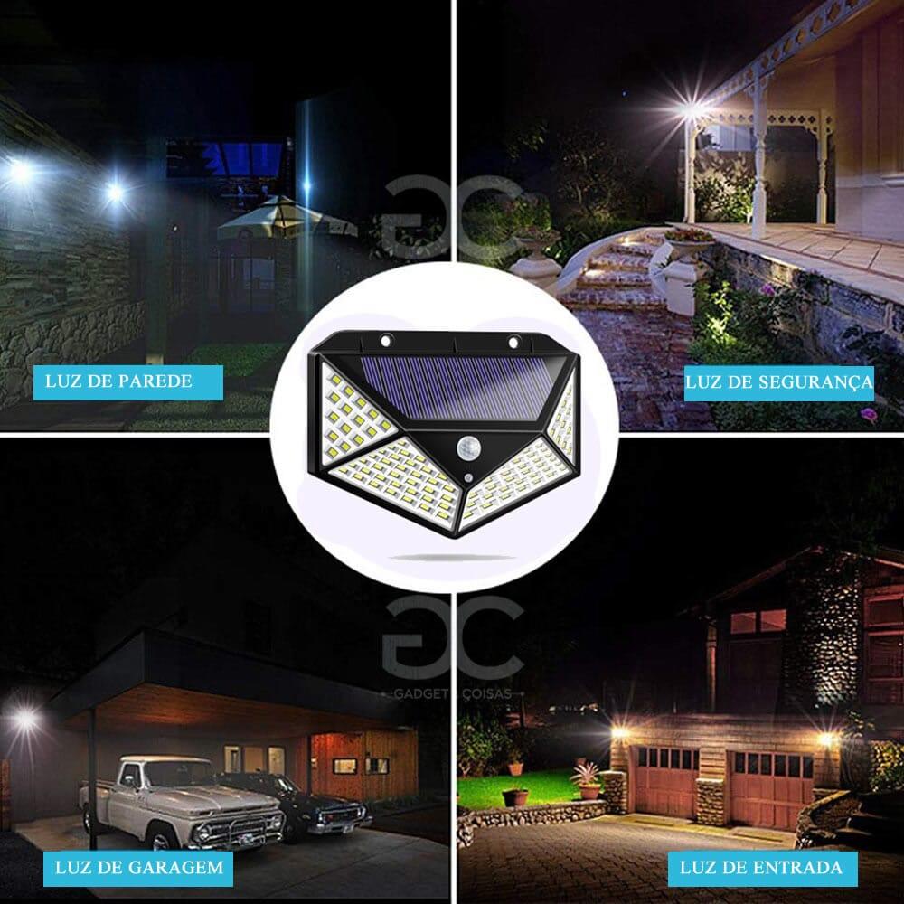 Luz Solar De Presença - Gadgets &Amp; Coisas