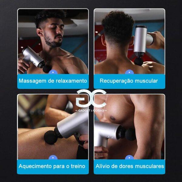 Massajador Corporal Portátil - Gadgets &Amp; Coisas