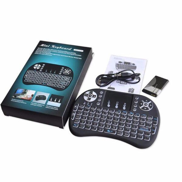 Teclado/Air Mouse (Com Iluminação Led) - Gadgets &Amp; Coisas