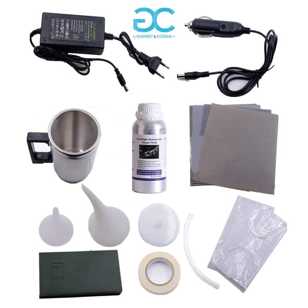 Kit Polimento / Restauro De Faróis - Gadgets &Amp; Coisas