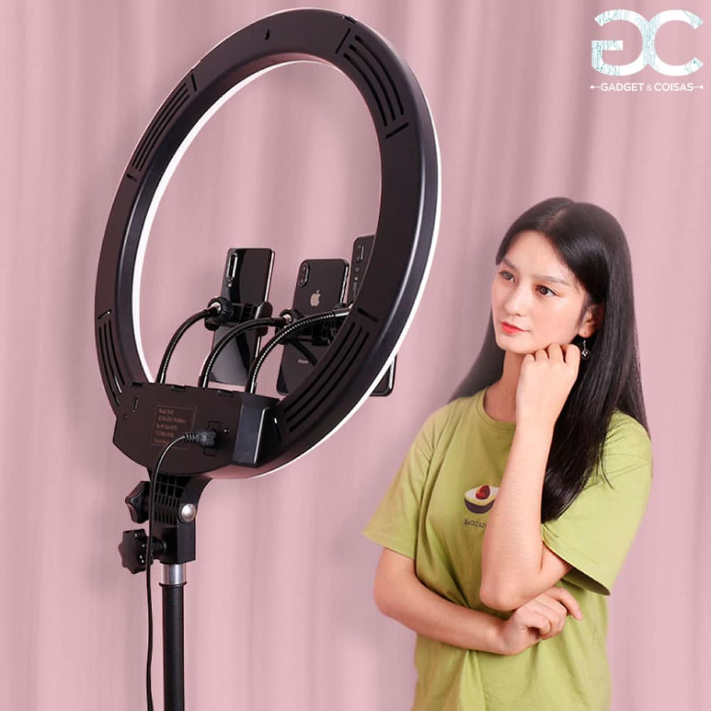 Ring Light Profissional - Kit Completo - Gadgets &Amp; Coisas